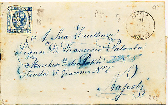 italy 1820/1942 - lot of 210 letters with and without postage, some