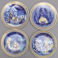 Decorative Porcelain Plates auction