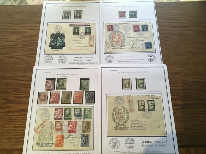 Portugal 1953/1954 - Batch of sets and blocks from this period