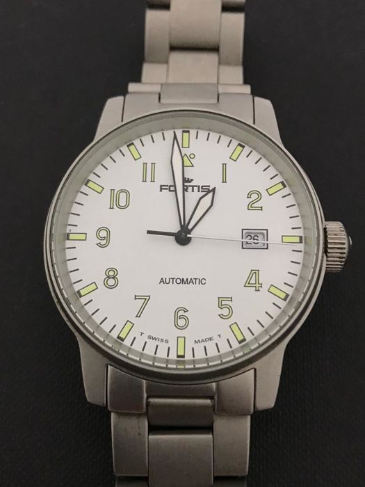 "Fortis - Fliger Automatic - ""NO RESERVE PRICE"" - Heren - 2011-heden"