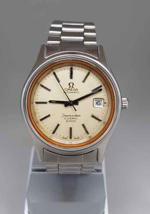 """Omega - Seamaster Cosmic 2000 Automatic (1972) - """"NO RESERVE PRICE""""  - 166.130 - Homme - 1970-1979"""