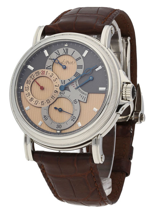 Paul Picot - Atelier Regulateur Date power Reserve Chronometer - P3340.SG.8209 - Men - 2011-present