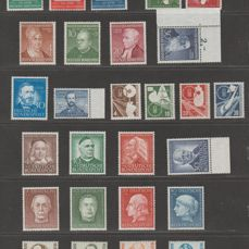 Germany, Federal Republic 1949/1955 - Selection 1940s-50s