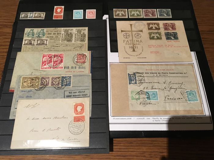 Portugal 1935/1951 - Batch of sets and letters from this period - Mundifil 564, 565/567, 568/569
