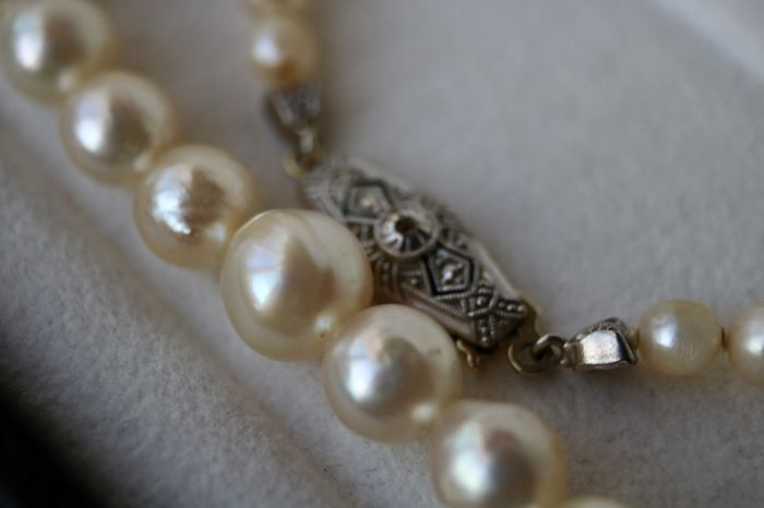 collier perle 1920
