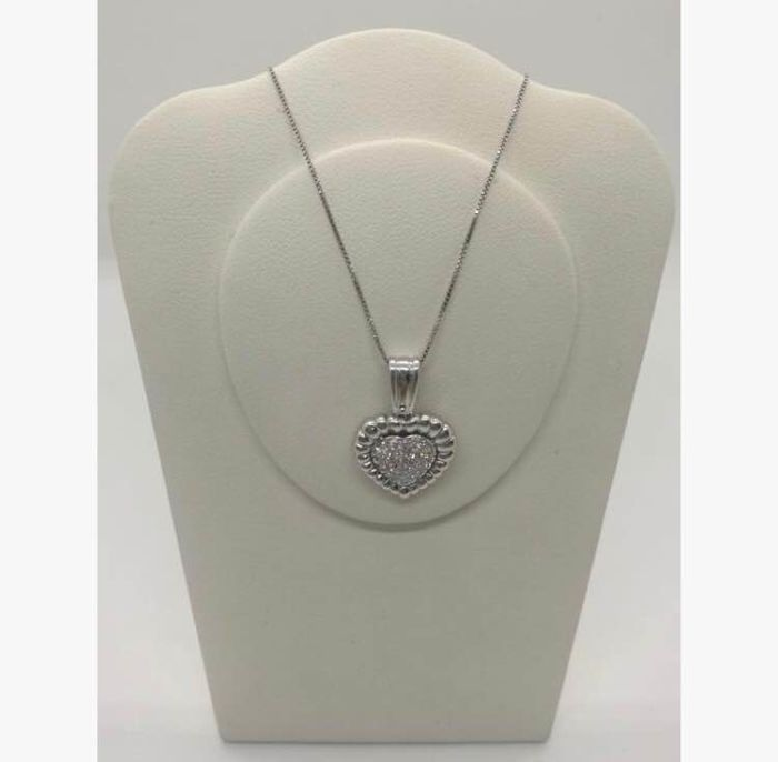 18 kt. - Necklace with pendant Diamond