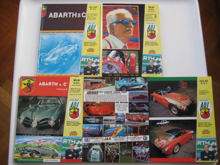 Books - ABARTH OWNERS INTERNATIONAL - 1988-1988