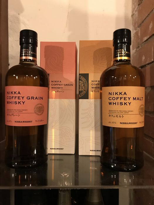Nikka Coffey Grain & Coffey Malt - 0,7 litros - 2 botellas