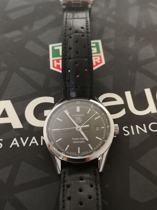 TAG Heuer - Carrera Calibre 7 Twin-Time - WV2115.FC6182 - Men - 2000 ... 9fdf4e4ce97d