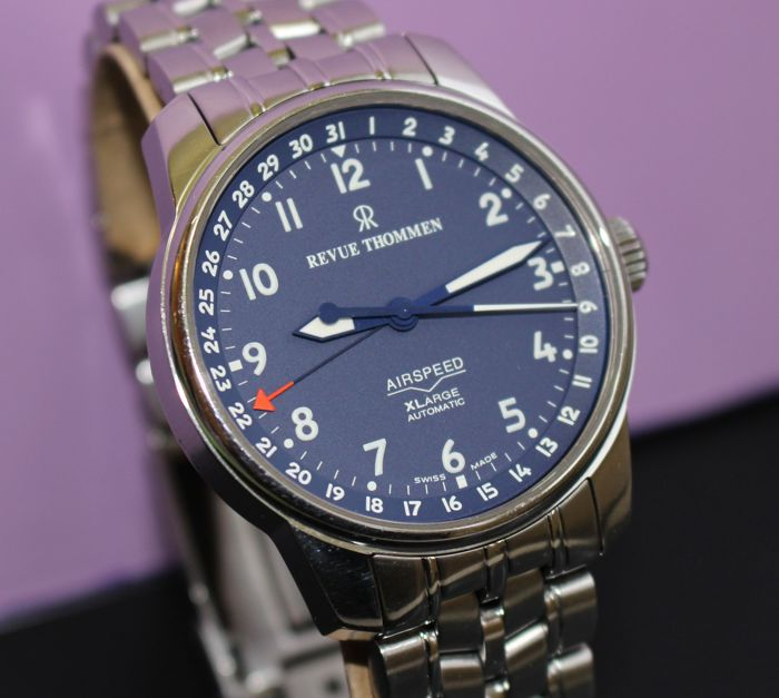 Revue Thommen - Airspeed - Automatic - Very Nice - Very Rare - Men - 2000-2010