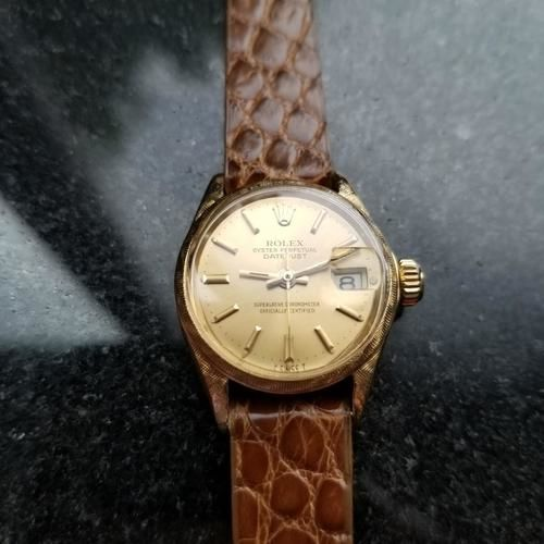 Rolex -  Oyster Perpetual Datejust 6520 - Women - 1960-1969