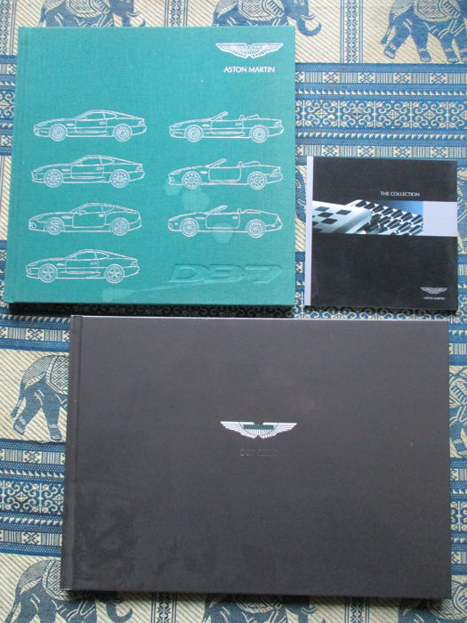 Brochures / catalogues - Aston Martin - 2001-2004