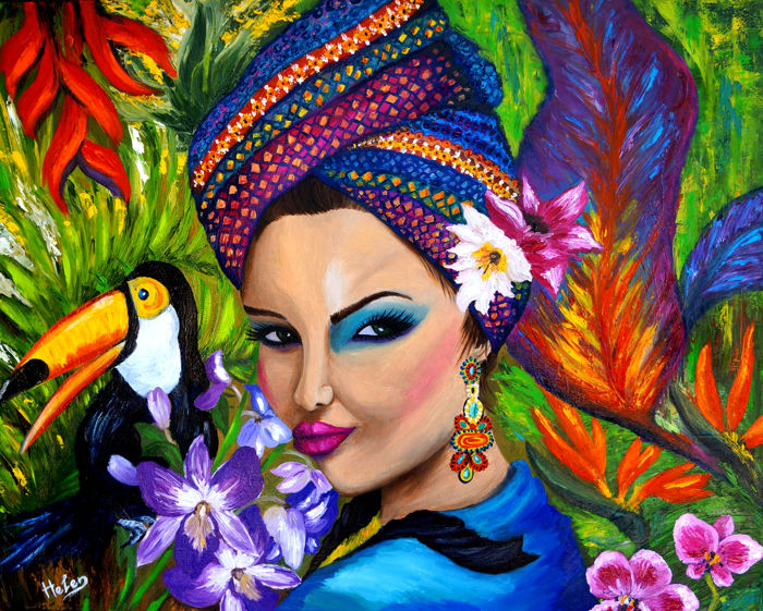 Helen Bellart - Exotic woman