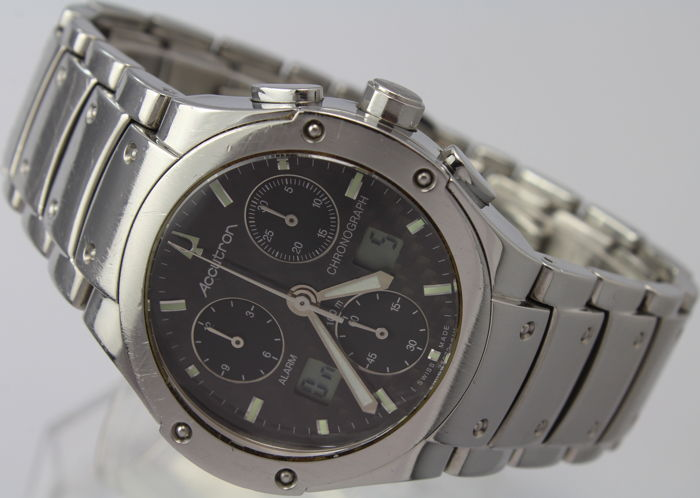 "Bulova - Accutron Chronograph Alarm  ""NO RESERVE""  - Very Rare Model - Excellent Condition - Homme - 2011-aujourd'hui"