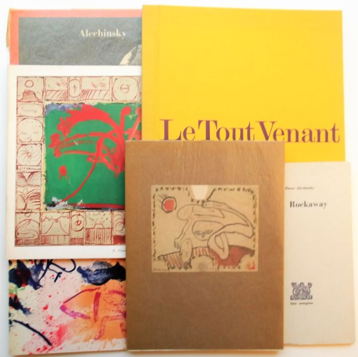 Pierre Alechinsky - Lot with 6 books - 1963/1978