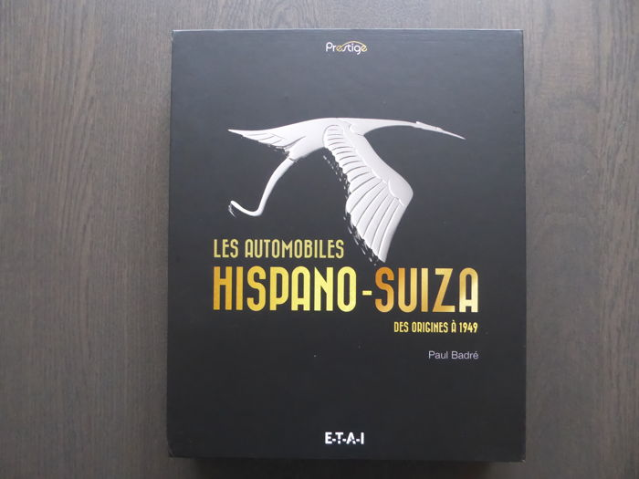Books - Paul Badre - Les Automobiles Hispano Suiza - 2015 (1 items)