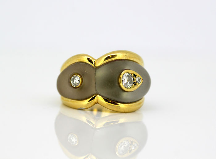 Boucheron - 18 kt. Yellow gold - Ring Diamond