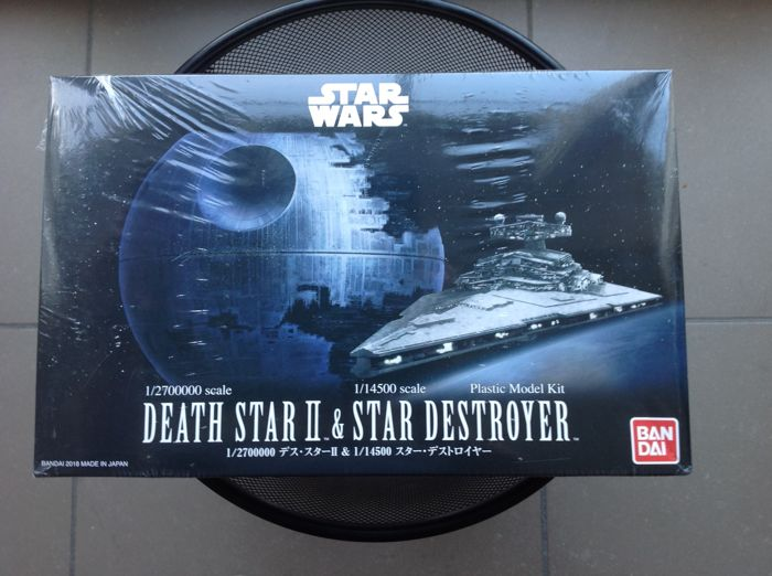 Star Wars - Bandai - 8x assembly model kits - C-3PO, R2-D2, Vader, Tie  Fighter, X-Wing, Death - Catawiki