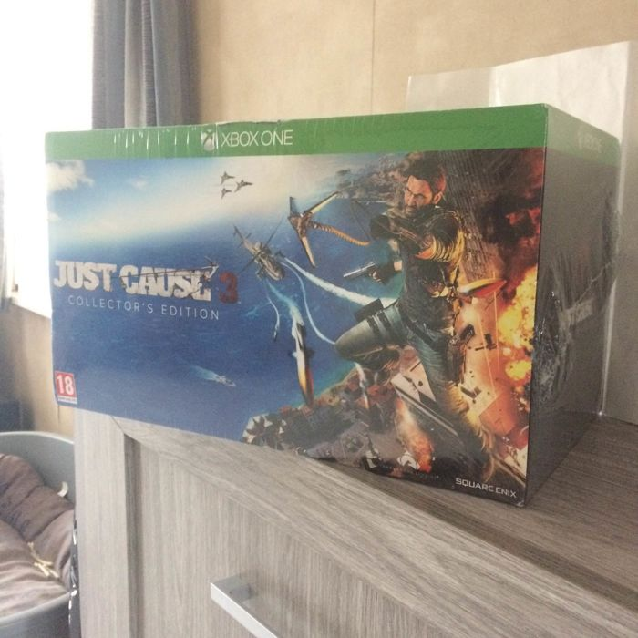 Microsoft Xboxone - collector's edition Just Cause 3 - Video games