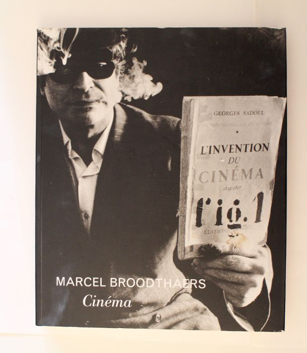 Manuel J.Borja-Villel and Michael Compton - Marcel Broodthaers Cinema - 1997