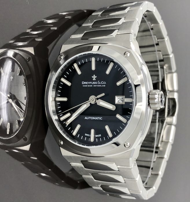 Dreyfuss & Co. - Automatic 1953 Stainless Steel Swiss Made - DGB00154/04 - Men - 2011-present