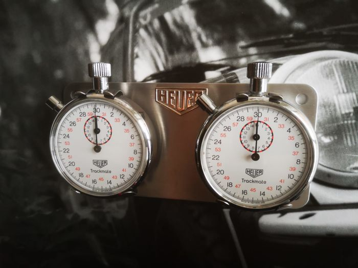 Parts - Twin rally Heuer Dash Stopwatches - 1970-1975 (1 items)
