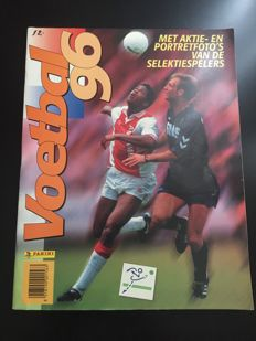 Panini - Voetbal 96 - Dutch eredivisie 1995/96 - Complete album including all-star poster