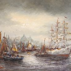 Peter Brouwer (1935-2010) - Sail Amsterdam