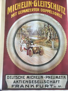 Michelin tire poster - Kornsand & co.