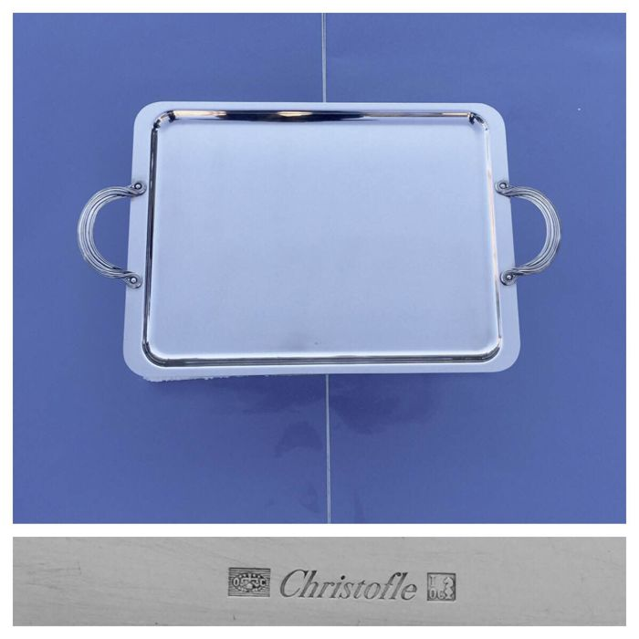 Christofle XXL Tray with Handles