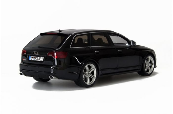 Otto Mobile - Scale 1/18 Audi RS6 Avant C6 - Black - Limited Edition of 1500 units