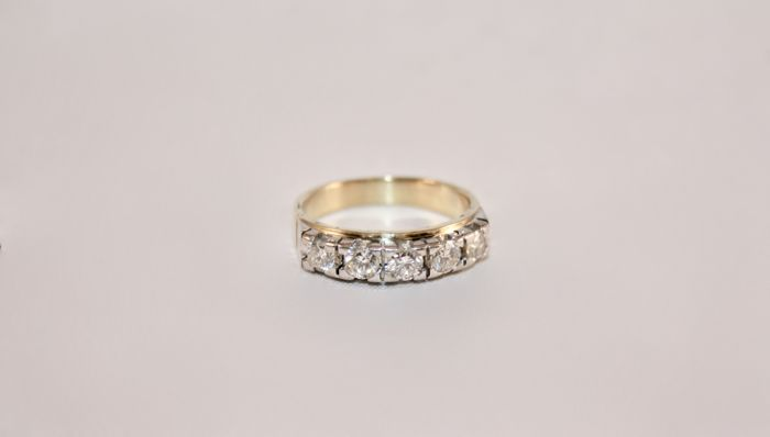 18 kt. - Ring Diamond
