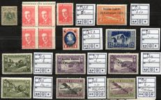 World - Collection from various countries, with i.a. Albania and Portuguese blocks