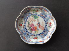 Familie Rose Pattipan [coaster] 18th century, China