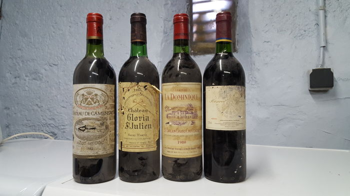 1982 Chateau de Camensac Gd cru classé haut medoc x 1 bottle