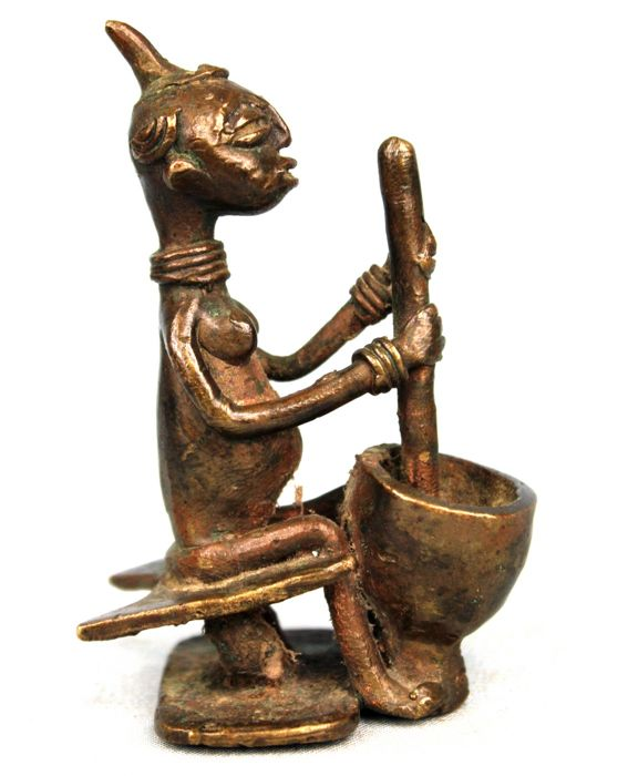 Old Bronze Item - AGNI ANYI - Ivory Coast