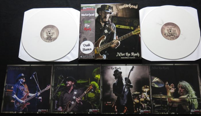 Motörhead ‎– After The Shock: 2LP, limited edition on COLORED vinyl/OBI-strip + 4 pictures!