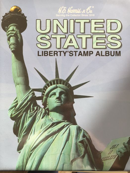 United States of America 1929/1995 - Collection in Harris Album