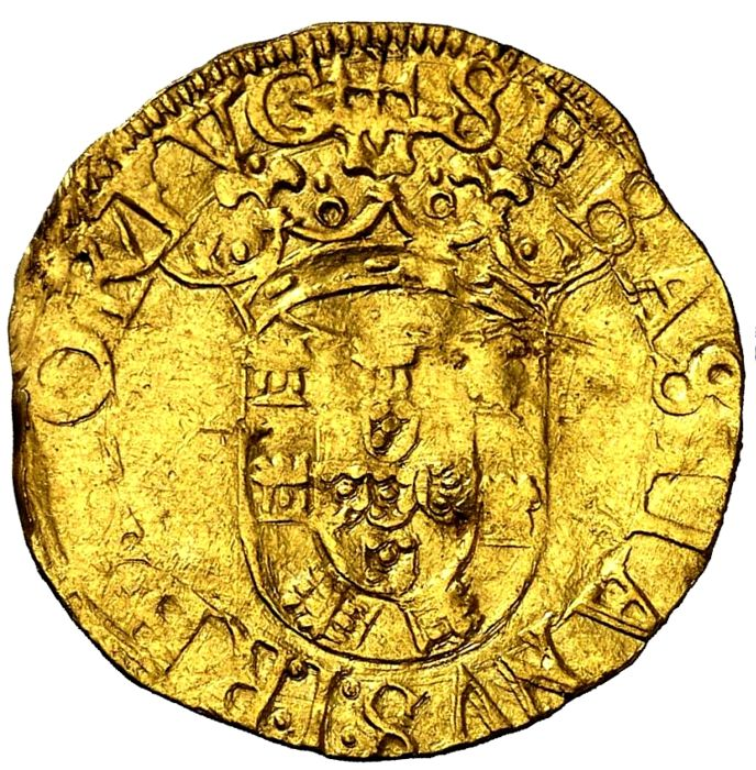 Monarchy of Portugal - D Sebastião I ( 1557-1578 ) - 500 Reais - Lisbon - Gold