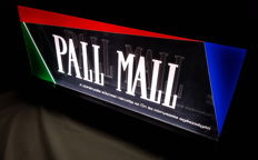 PALL MAll light advertising board