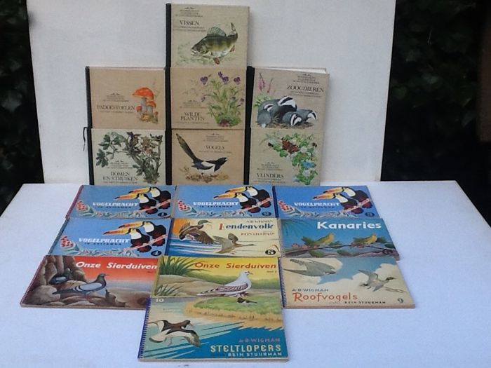 Nature; Nature guides - Two sets - 17 volumes - 1960/1994