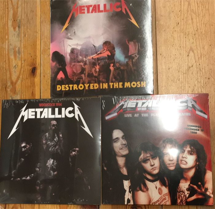 Three albums of Metallica  || Limited edition ||