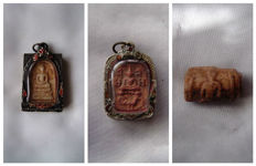 Amulets – Thailand – 19th to mid 20th century.