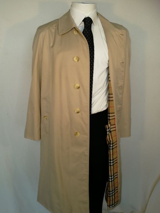 best loved bf519 2d992 Burberry - Herren Trenchcoat - Made in England - Catawiki