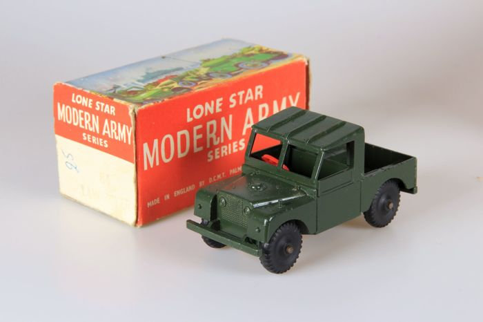 Lone star mobile fighting unit modern army series schaal approx 1 43 landrover radar - Lionsstar mobel ...