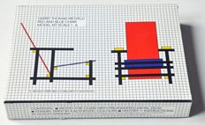Rietveld chair, assembly kit for a model 1 : 6
