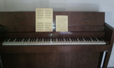 Erard art déco piano from 1936