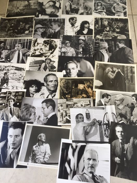 Paul Newman - Nice selection of original press photographs.