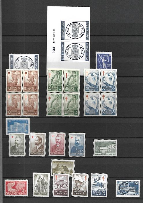 Finland 1870/1962 - Stamp collection