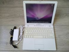 "Apple iBook G4 12"" - 1.2Ghz PowerPC G4, 1.25GB RAM, 60GB HDD, CD writer - model nr A1054"
